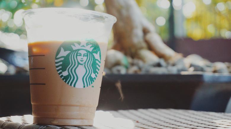 Starbucks Iced Caffé Latte
