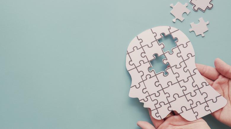 autism concept puzzle pieces