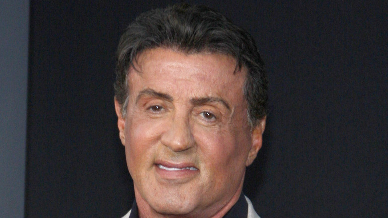 """Sylvester Stallone at the world premiere of """"Rocky Balboa"""""""