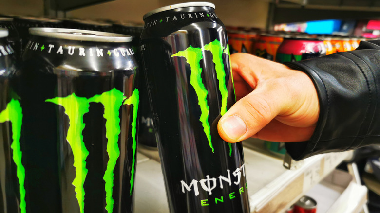 Can of Monster Energy