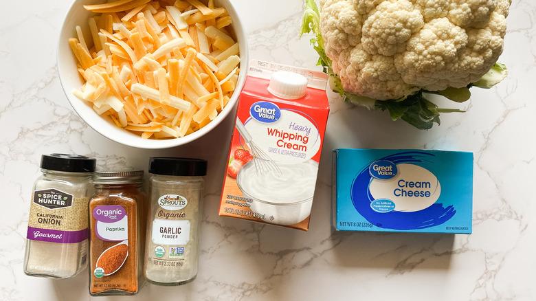 cauliflower mac and cheese ingredients
