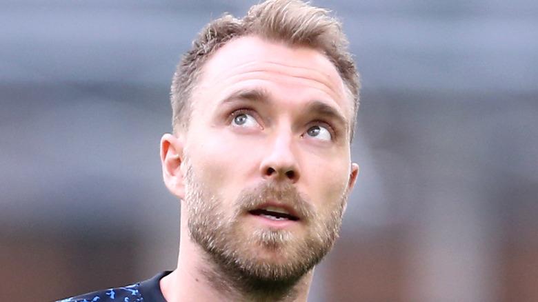 Christian Eriksen during an earlier game