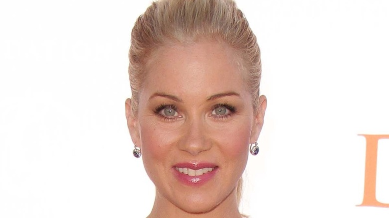 Christina Applegate smiling