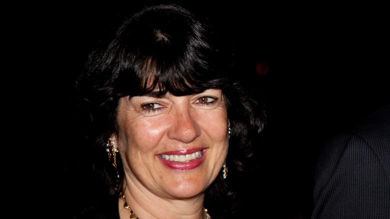 A close up of Christiane Amanpour