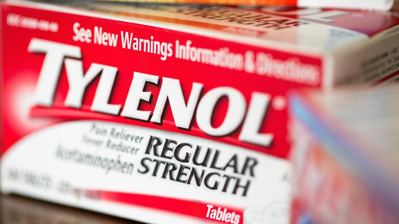 Tylenol/acetaminophen