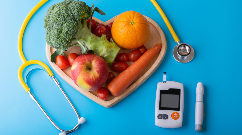 Glucose monitor, healthy foods for diabetes