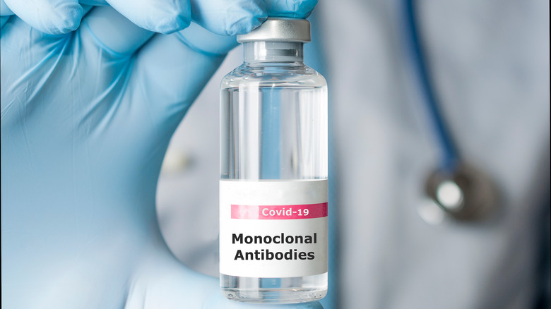 vial of monoclonal antibodies