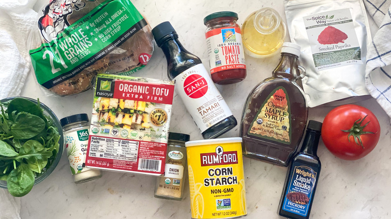 tofu burger ingredients