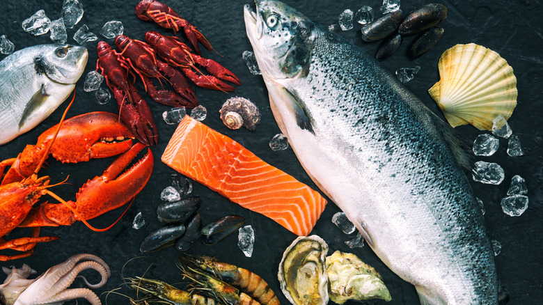 fish and seafood omega-3 sources