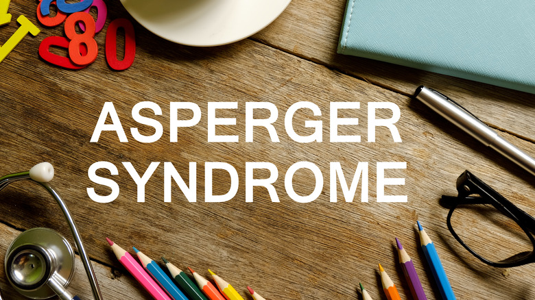 Asperger Syndrome photo spelled out