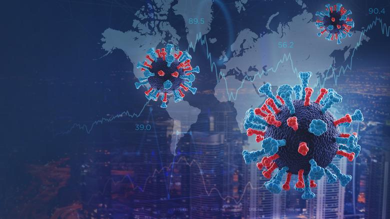 COVID-19 virus molecules