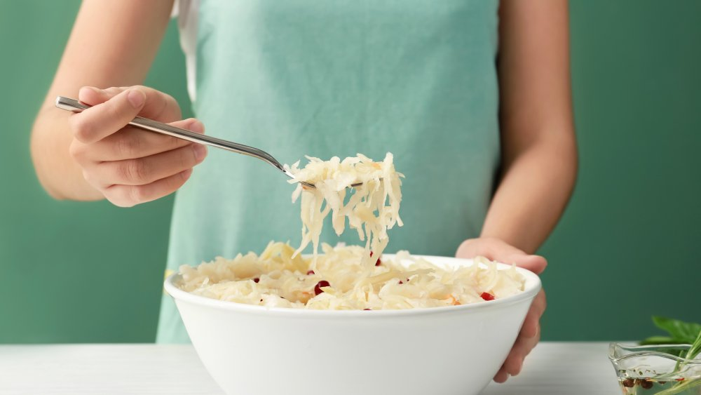 immune-boosting sauerkraut