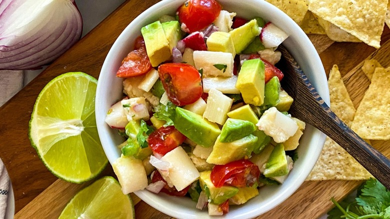 hearts of palm ceviche