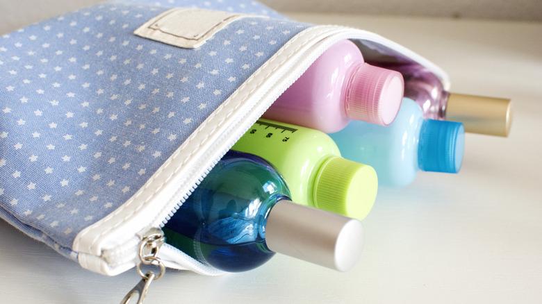 airport liquids bag for carryon