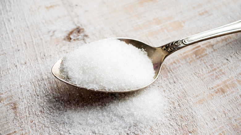 spoonful of aspartame