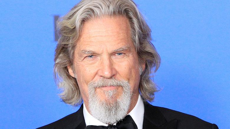 close up of actor Jeff Bridges