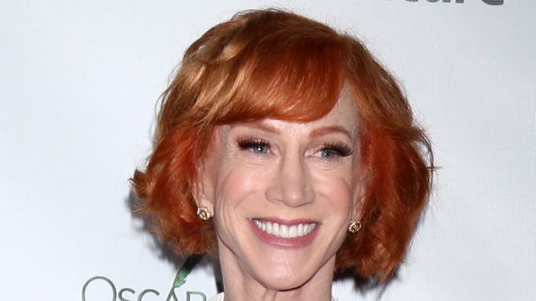 Kathy Griffin smiling at event