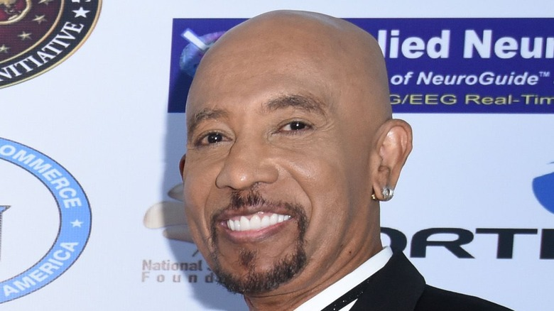 Montel Williams at an advocacy function
