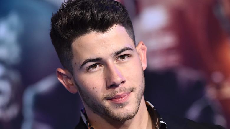 "Nick Jonas at the premiere of ""Jumanji: The Next Level"""