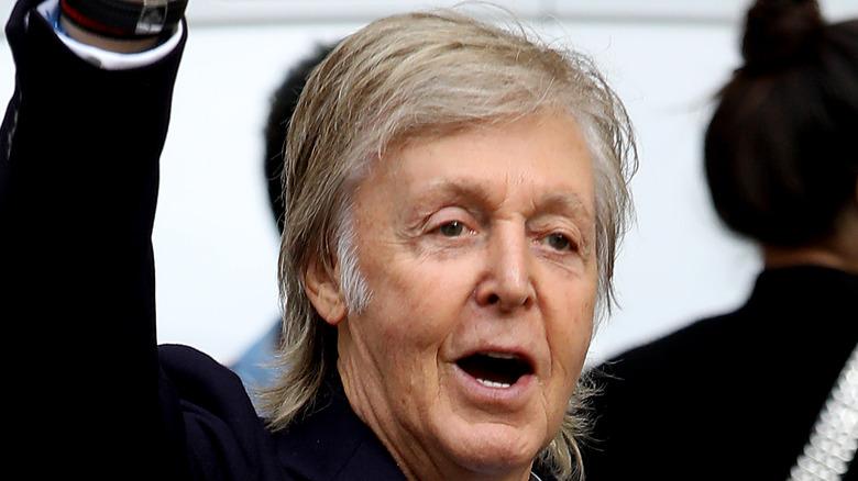 close up of Sir Paul McCartney