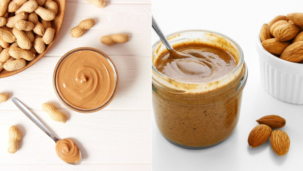 Peanut butter and almond butter