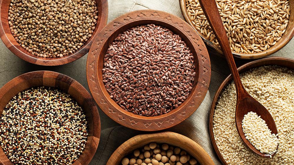 different grains