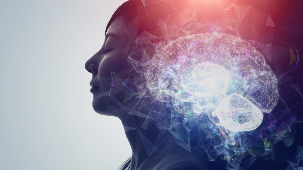 Illustration of mind and brain