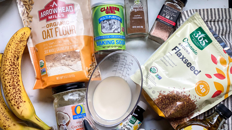 sugar-free banana bread ingredients
