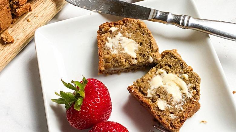 sugar-free banana bread