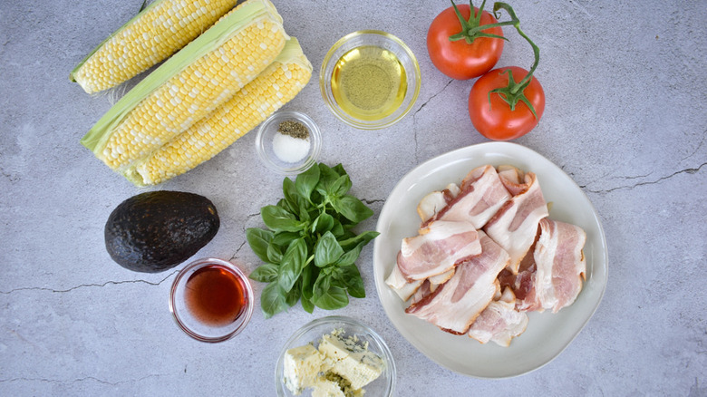 Ingredients for summer corn salad