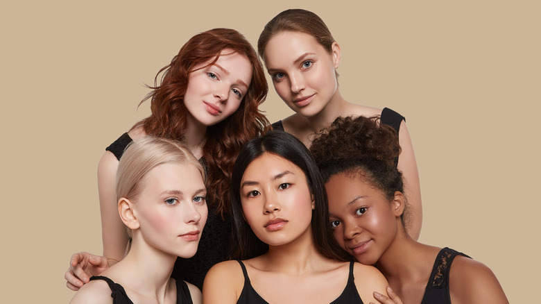 A group of women with different hair colors