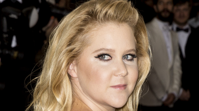 Close up of actor and comedian Amy Schumer