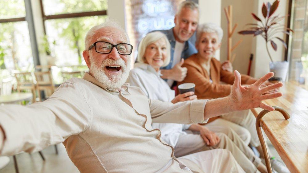Older adults together