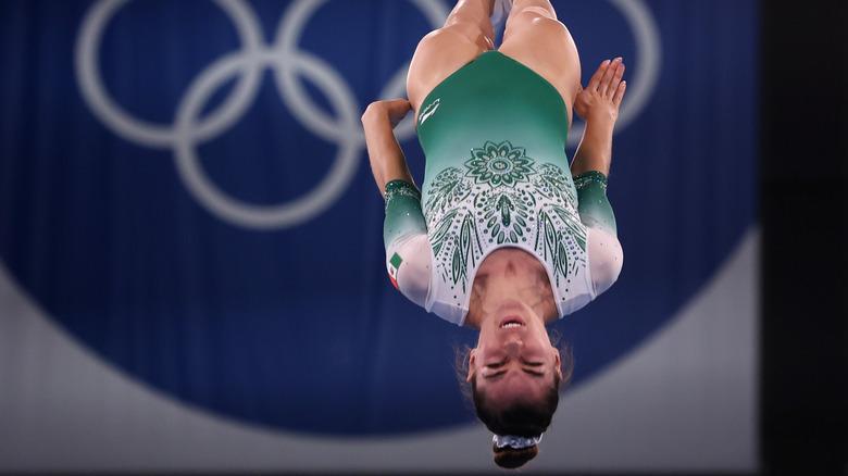 Gymnast in Tokyo 2020 Olympics