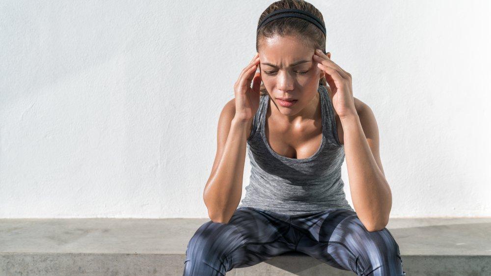 runner headache