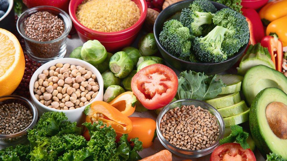 Spread of vegan food