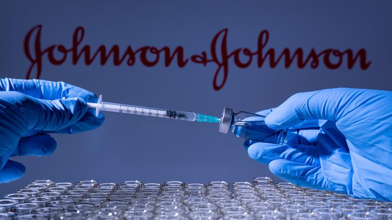 Johnson & Johnson needle and vials