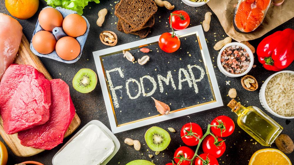 Assortment of FODMAP foods