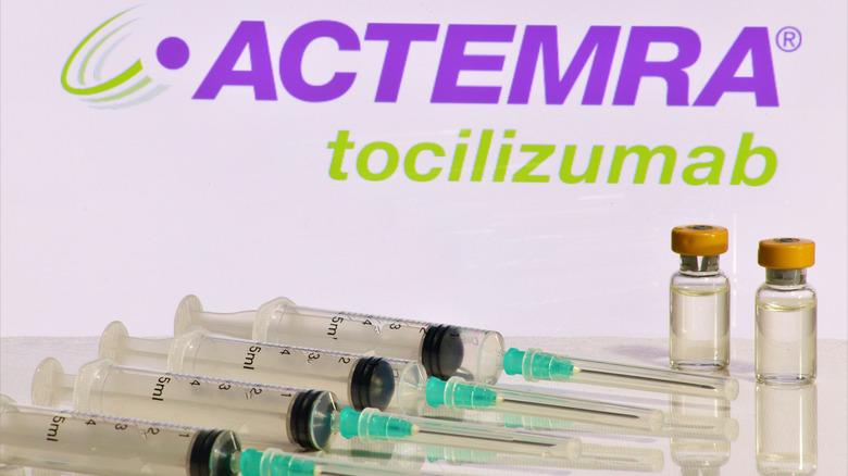 syringes with Actemra (tocilizumab)