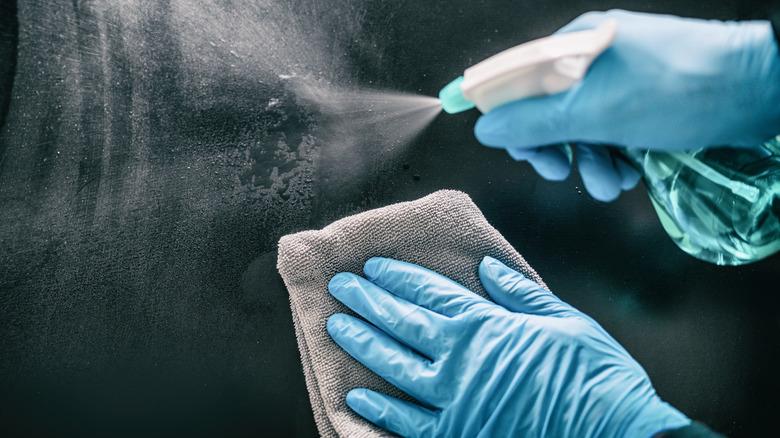 Cleaning, sanitizing