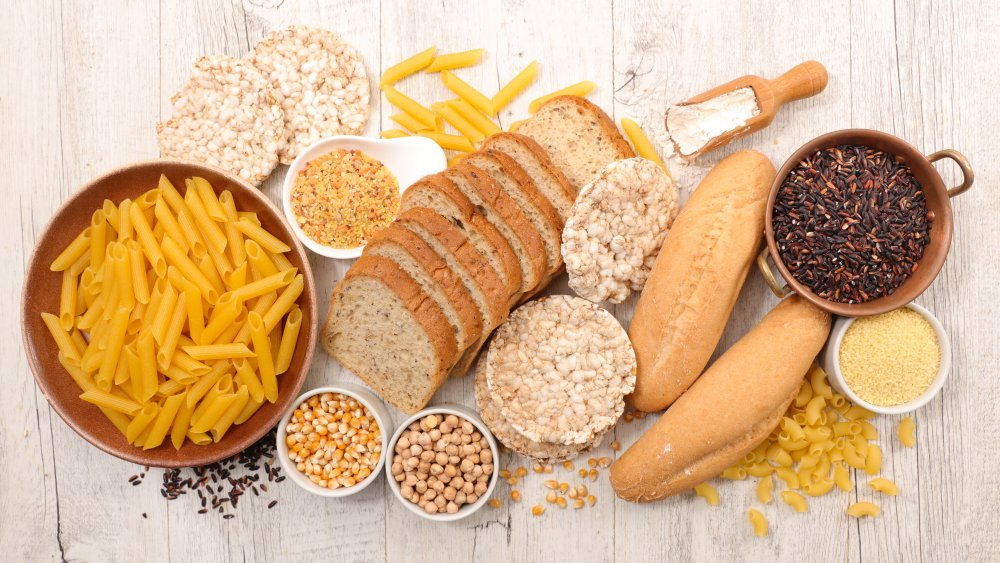 gluten-free carbohydrates
