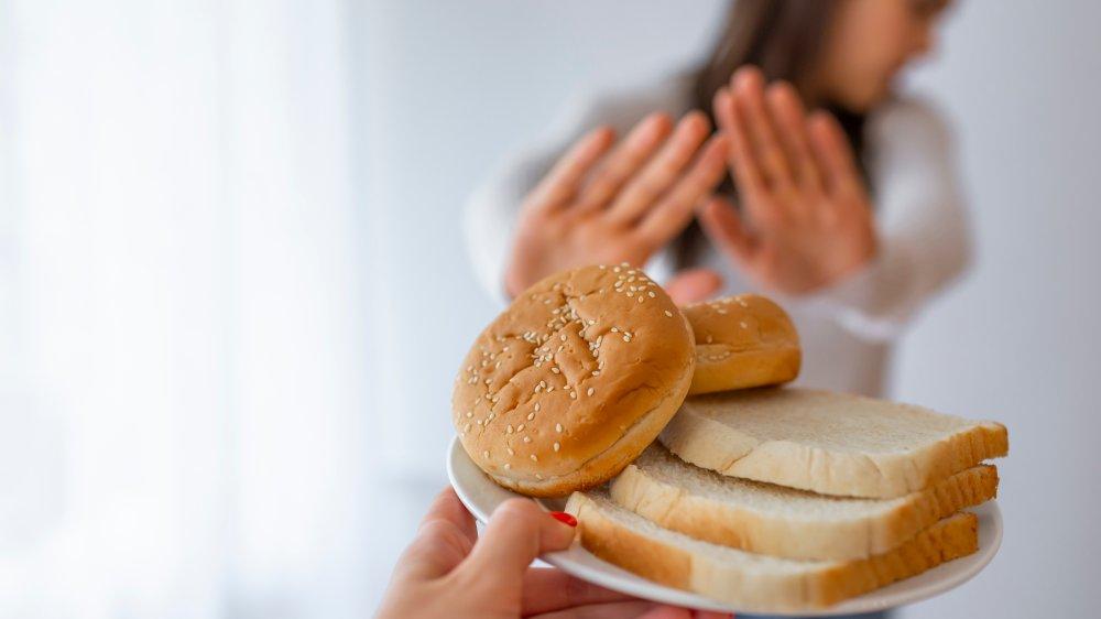 gluten-free woman
