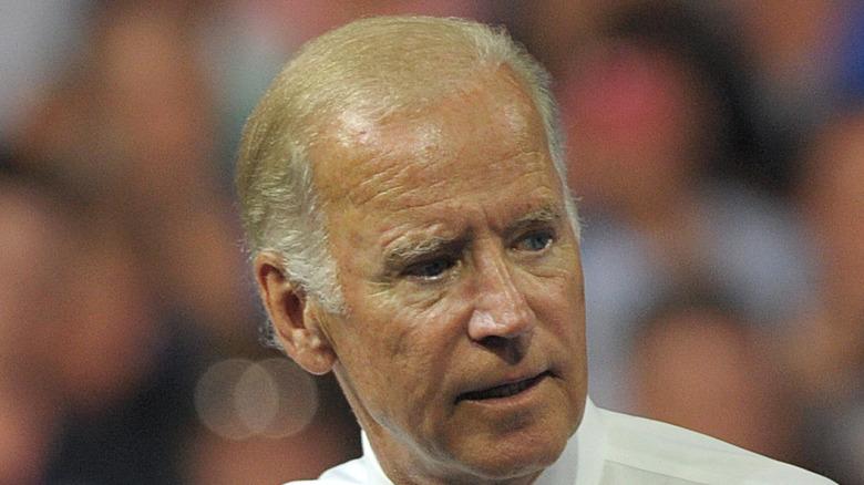 Close-up of President Joe Biden