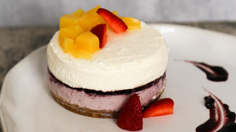 no-bake keto cheesecake