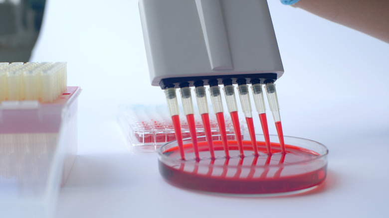 Blood test for doping