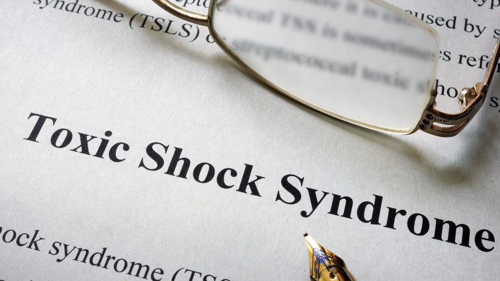 Toxic shock syndrome definition on paper