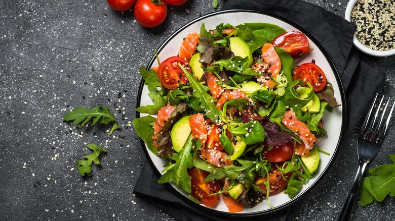 healthy keto meal