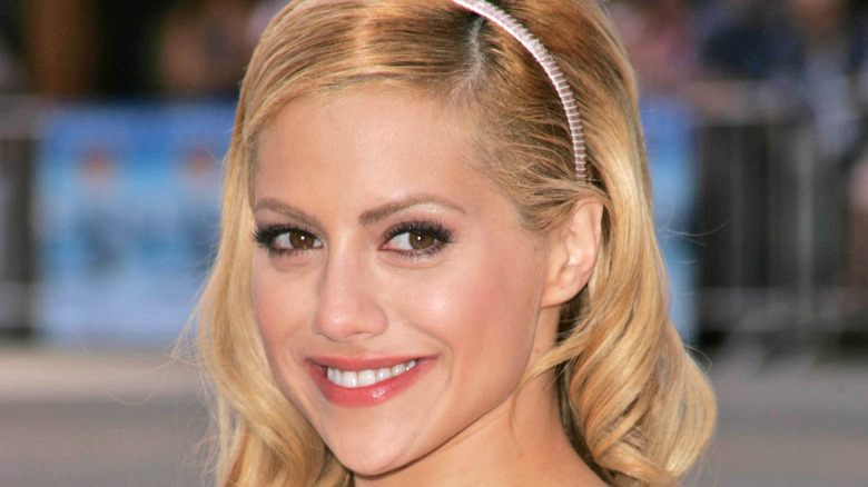Actress Brittany Murphy at a movie premier