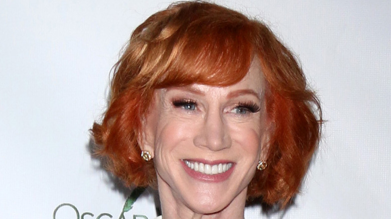 Close-up of Kathy Griffin smiling