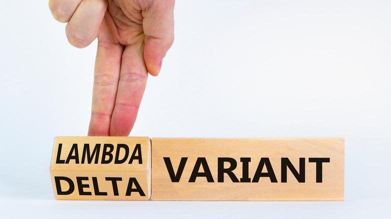 blocks changing from Delta to Lambda variant